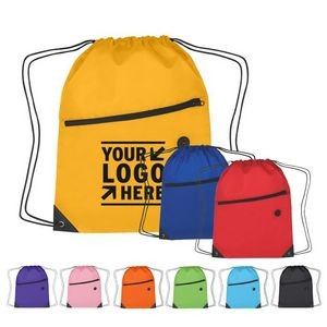 Polyester Multi Color Hit Sports Pack With Front Zip Pocket