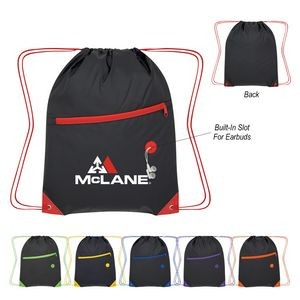 Color Pop Drawstring Bag